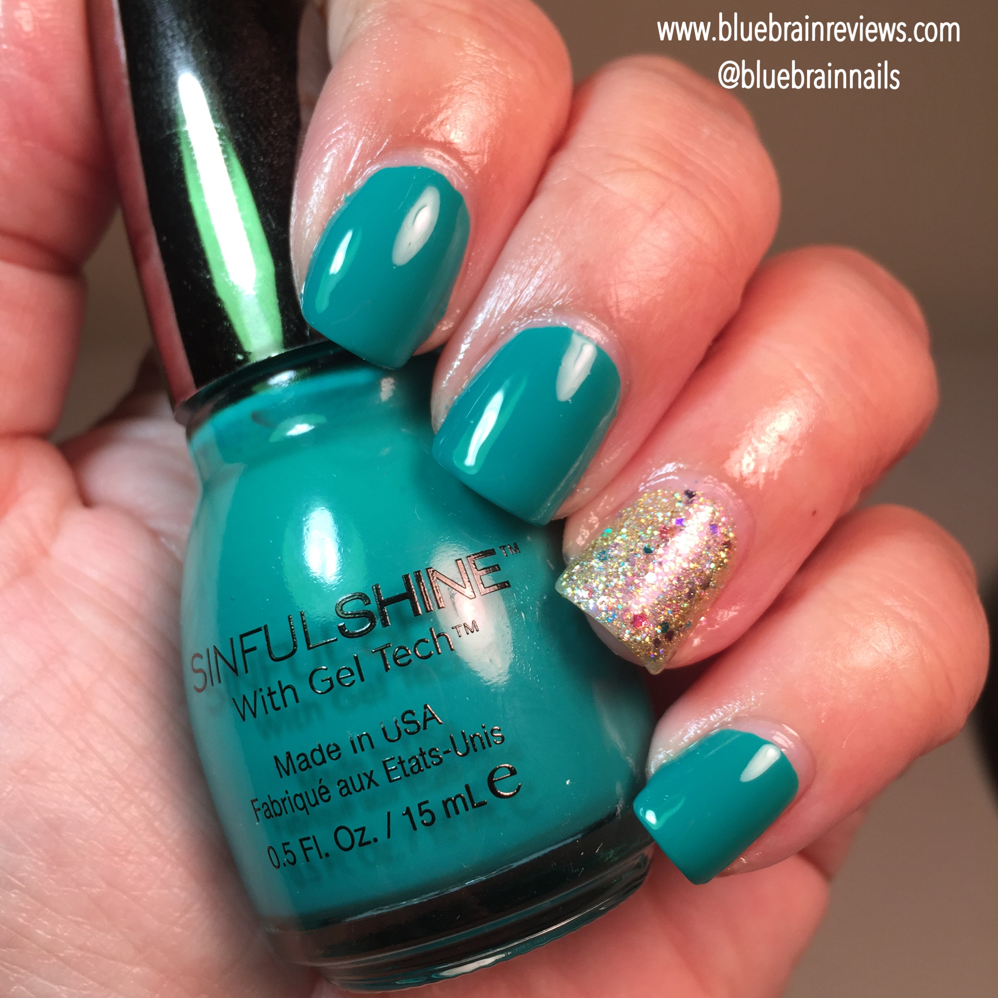 Nail Polish Tips: SinfulShine With Gel Tech